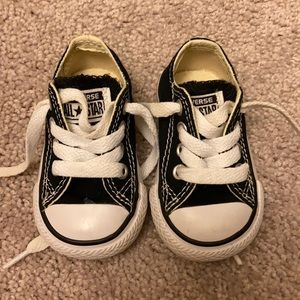 Baby size 2 Converse shoes